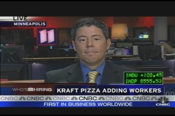Kraft Pizza Hiring Despite Recession