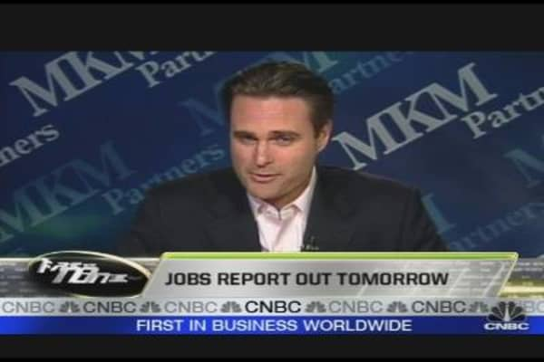 Jobs Report Out Tomorrow