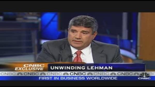 The Unwinding of Lehman Brothers