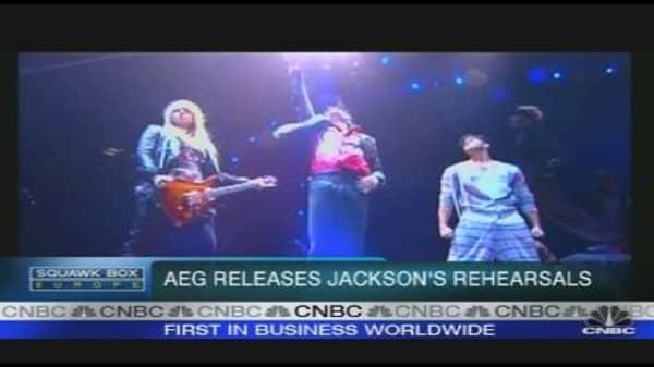 Last Footage of Michael Jackson Rehearsing