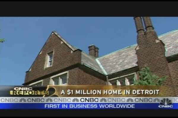 A $1 Million Home in Detroit