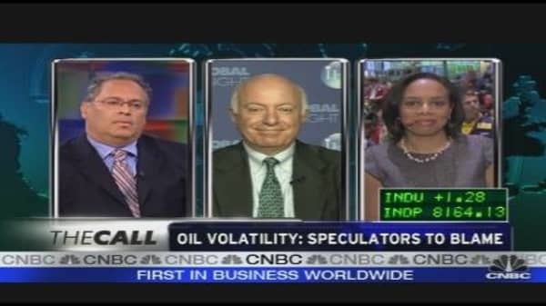 Oil Volatility: Speculators to Blame?