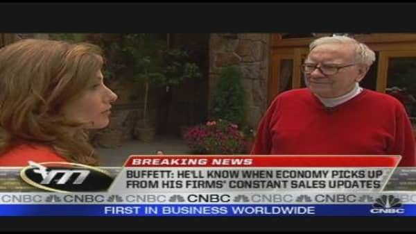 Warren Buffett: Second Stimulus Plan