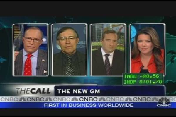 GM Chairman on Bankruptcy Emergence