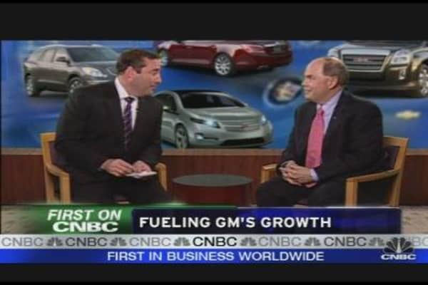 GM CEO on Company's Growth Strategy