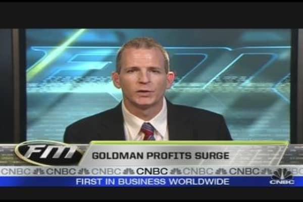 Goldman Profits Surge