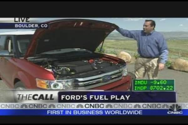 Ford's Fuel Efficiency Road Test