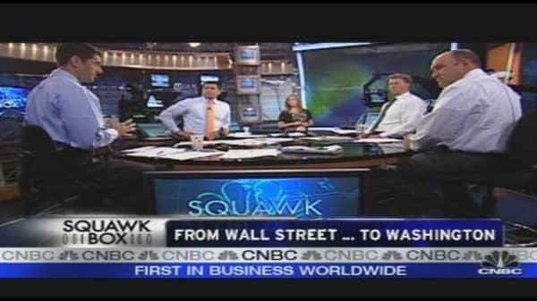 From Wall Street to Washington