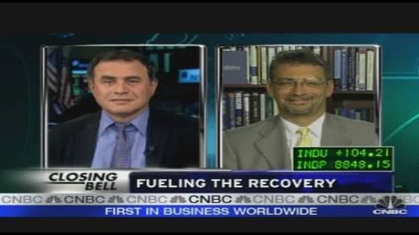 Roubini on Fueling The Recovery