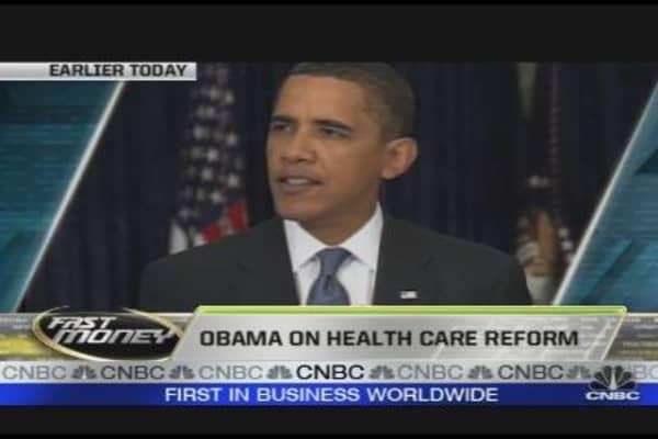 Obama's Pain, Insurers Gain?