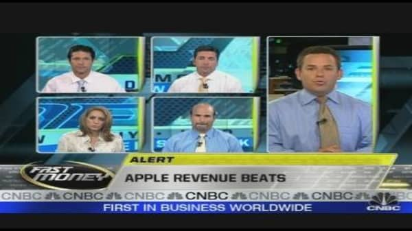 Apple Revenue Beats