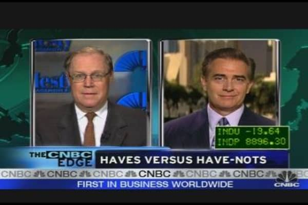 Earnings: Haves vs. Have Nots