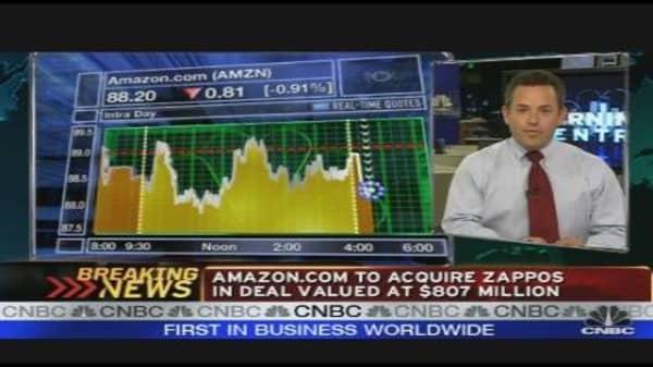 Amazon Buys Zappos