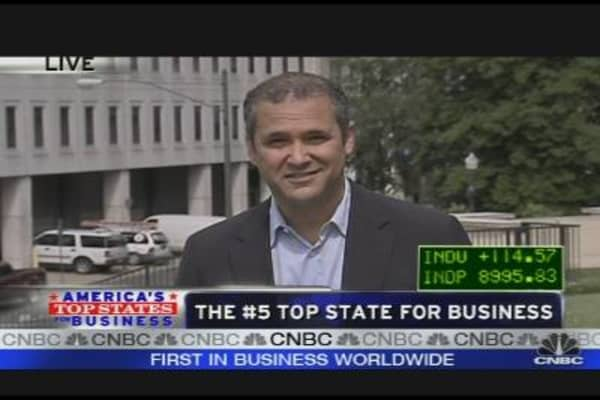 Top States for Business: #5