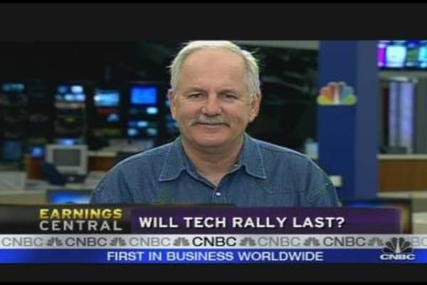 Will Tech Continue to Rally?