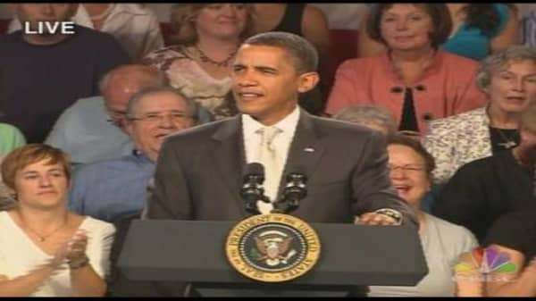 Obama Healthcare Town Hall