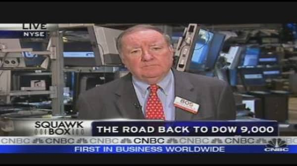 The Road Back to Dow 9,000