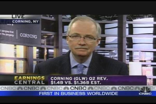 Corning CFO on Earnings, Outlook