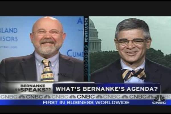 Bernanke's Agenda
