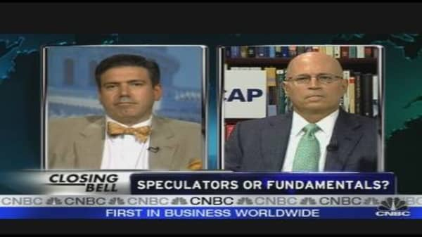 Speculators or Fundamentals?