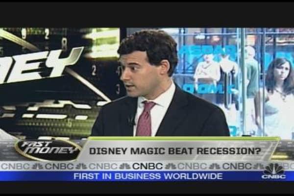 Disney Magic Beat Recession?