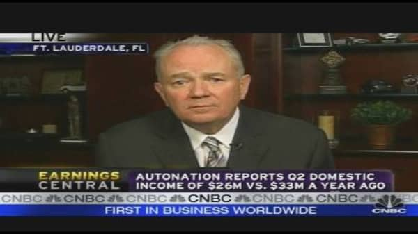 AutoNation CEO on Earnings, Outlook