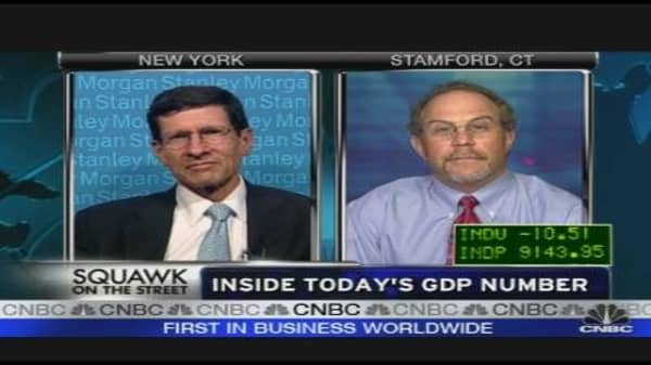 Inside Today's GDP Number