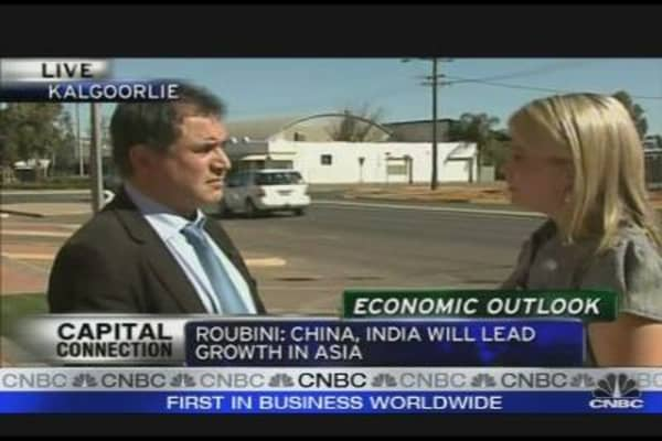 Roubini: Sees Downside Risk to Commodity Prices