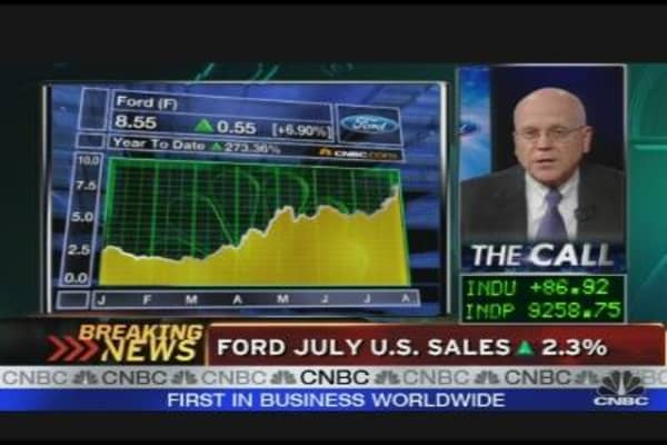 Ford Posts First Positive Sales in 2 Years