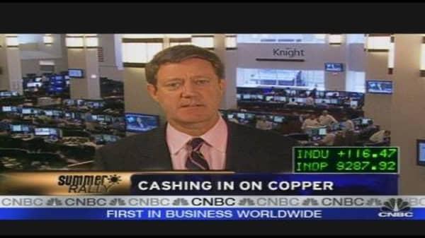 Cashing in on Copper