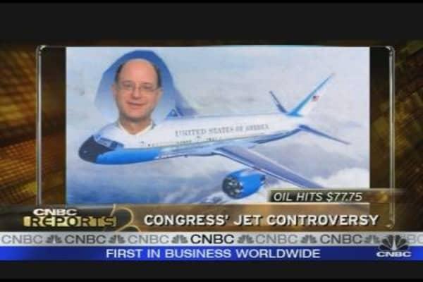 Congress' Jet Controversy