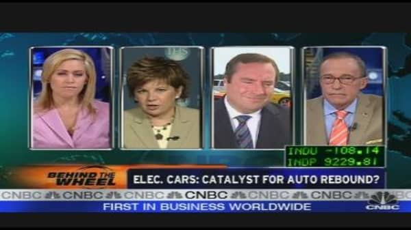 Electric Cars: Catalyst for Auto Rebound?