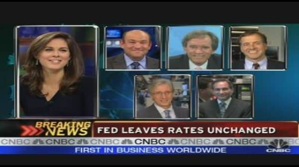 Reaction to the Fed