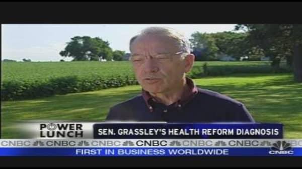 Grassley on Health Care Reform
