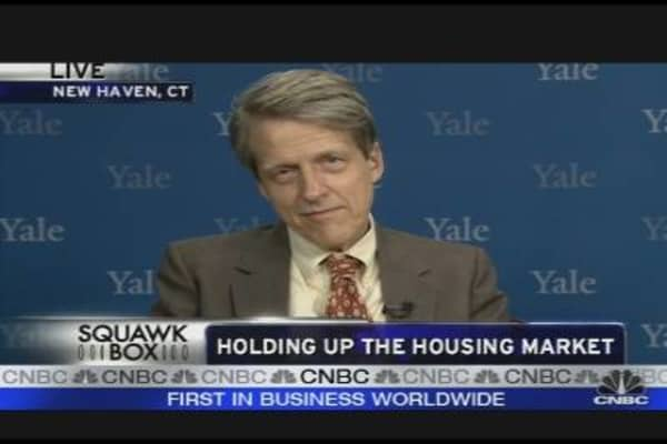Shiller: There Could Be Another Housing Bubble