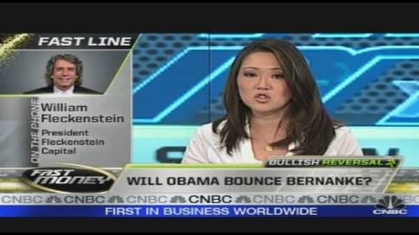 Will Obama Bounce Bernanke?