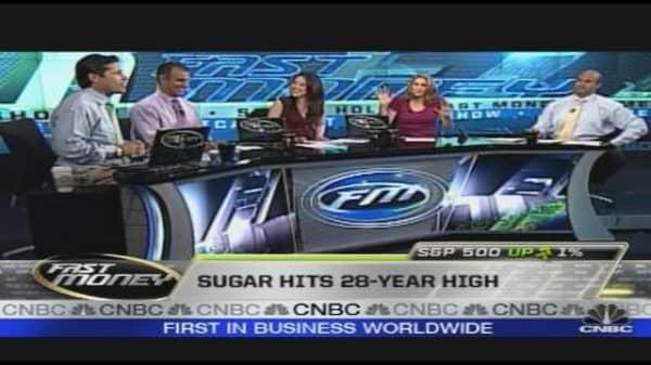Prop Desk: Sugar Shortage