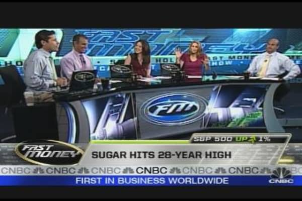 Prop Desk: Sugar Shortage