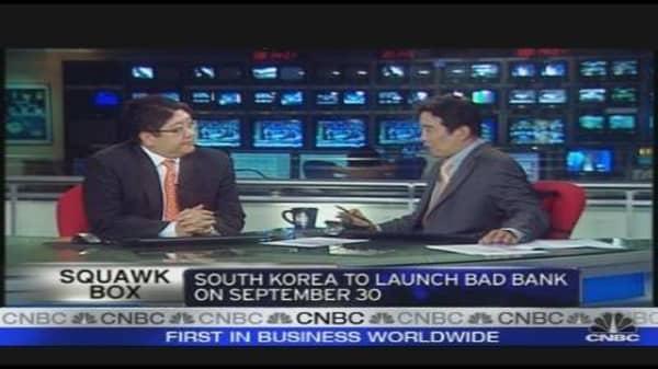 South Korea Set to Launch Bad Bank