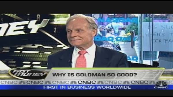 Why is Goldman so Good?