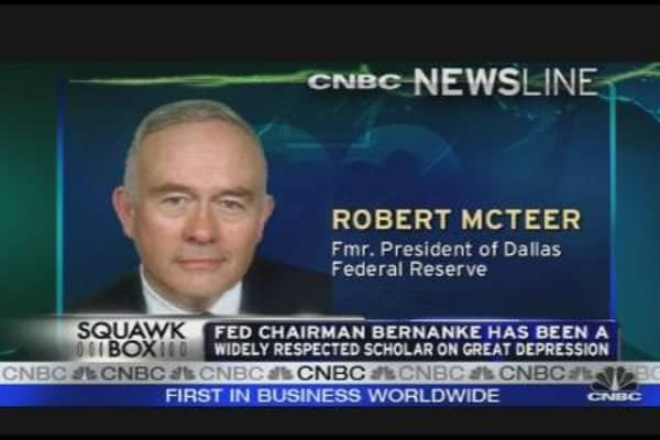 McTeer on Bernanke's Reappointment