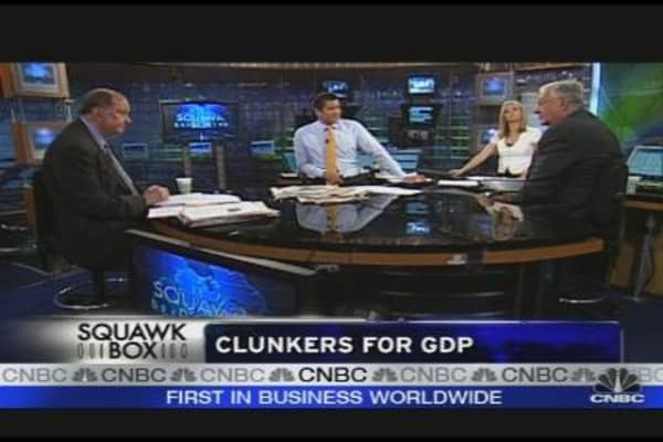 Clunkers for GDP