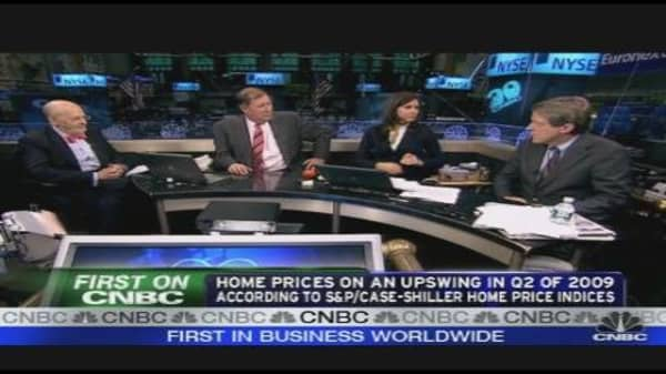 Home Prices on Upswing