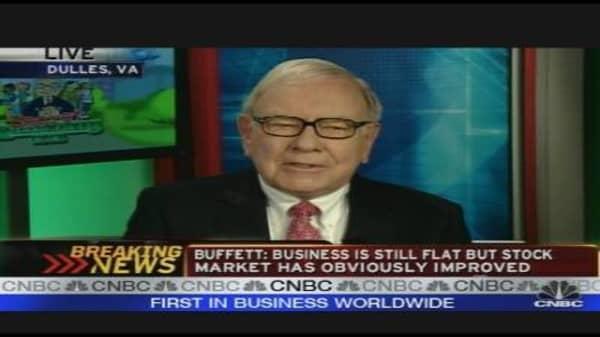Buffett Endorses Bernanke (July 24, 2009)