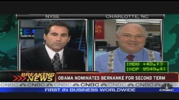 Grading Bernanke
