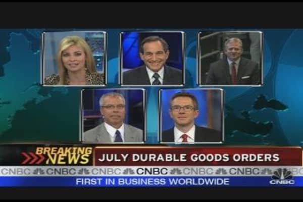 Durable Goods Orders Up 4.9%