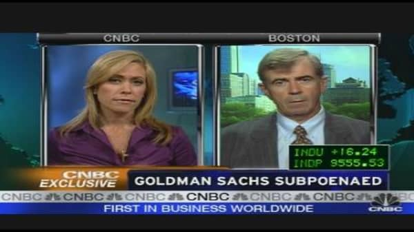 Goldman Sachs Subpoenaed