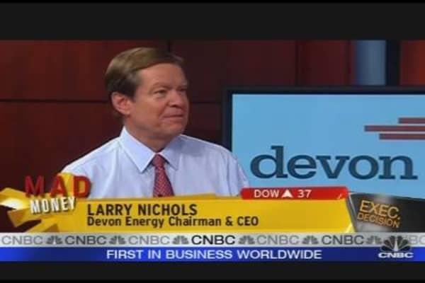 Devon Energy CEO Speaks