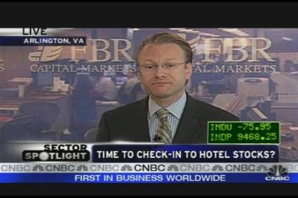 Time to Check in to Hotel Stocks?