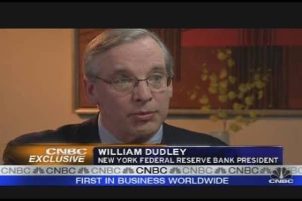 NY Fed President on Fed's Balance Sheet & More
